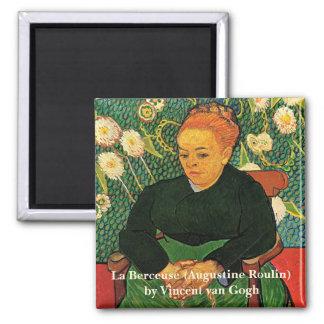 Van Gogh, La Berceuse, Vintage Impressionism Art Magnet