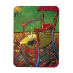 Van Gogh - la butaca de Paul Gauguin Imán De Vinilo