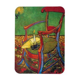 Van Gogh - la butaca de Paul Gauguin Imán Flexible