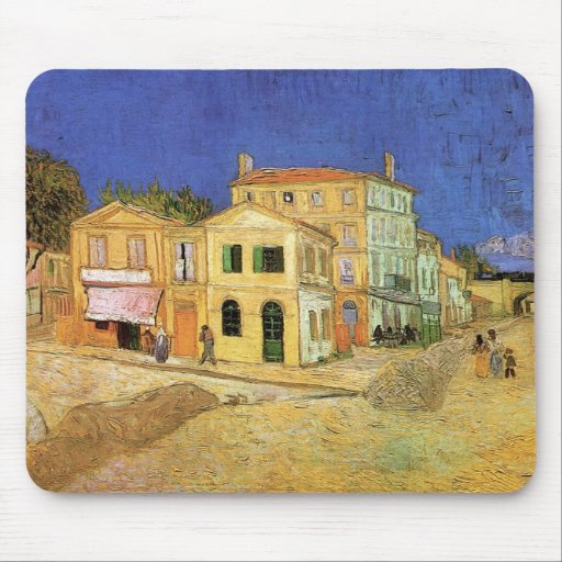 Van Gogh, la casa de Vincent en Arles (casa Alfombrilla De Ratón