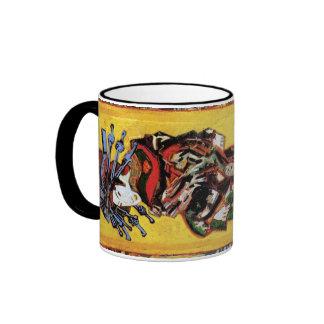 Van Gogh - la cortesana Taza De Dos Colores
