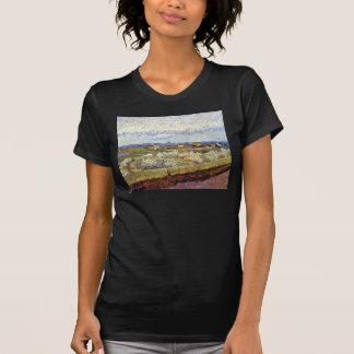 Van Gogh - La Crau con los árboles de melocotón en Camiseta