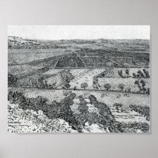 Van Gogh - La Crau Seen from Montmajour Poster