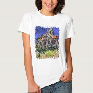 Van Gogh - la iglesia en Auvers Polera