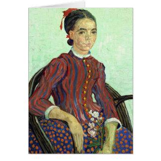 Van Gogh   La Mousmé Card