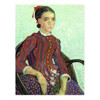 Van Gogh   La Mousmé Postcard