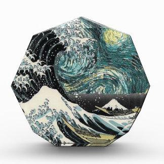 Van Gogh la noche estrellada - Hokusai la gran