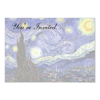 Van Gogh la noche estrellada Anuncio Personalizado