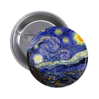 Van Gogh - la noche estrellada Pins
