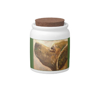 Van Gogh Lab Painting Candy Dish