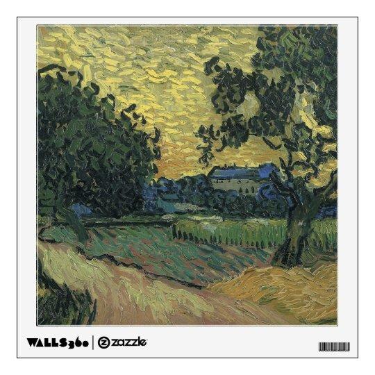 Van Gogh Landscape at Twilight 1890 Wall Sticker