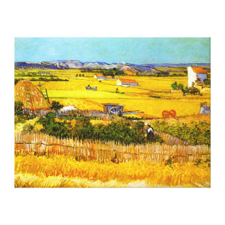Van Gogh: Landscape Near Arles Stretched Canvas Prints