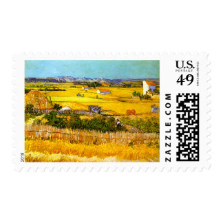 Van Gogh: Landscape Near Arles Postage