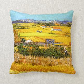 Van Gogh: Landscape Near Arles Throw Pillow