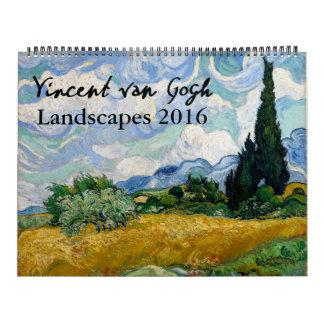Van Gogh Landscape Painting Calendar