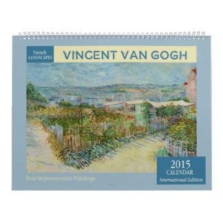 Van Gogh Landscapes 2015 Wall Calendar