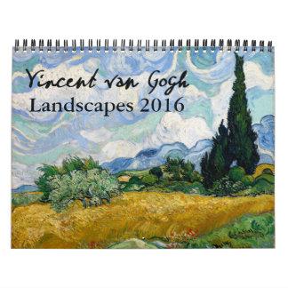 Van Gogh Landscapes 2016 Calendar