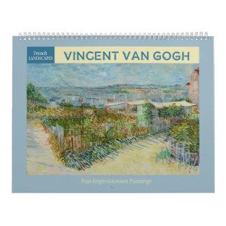 Van Gogh Landscapes 2018 Calendar