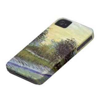 Van Gogh Lane in Voyer d'Argenson Park at Asnieres iPhone 4 Covers