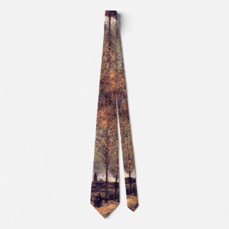 Van Gogh - Lane With Poplars Tie