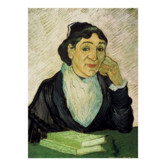 Van Gogh, L'Arlesienne (Madame Ginoux) Portrait Poster