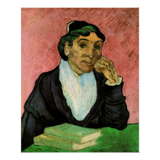 Van Gogh, L'Arlesienne (Madame Ginoux) Poster