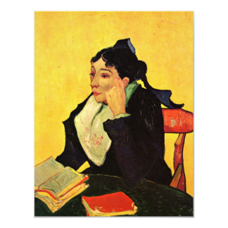 Van Gogh, L'Arlesienne: Madame Ginoux with Books Card