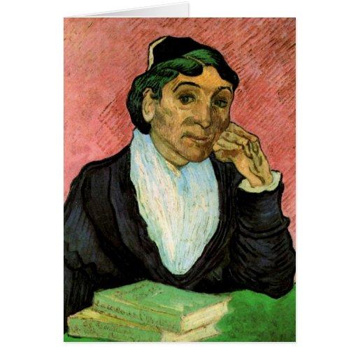 Van Gogh, L'Arlesienne (señora Ginoux) Tarjeta De Felicitación