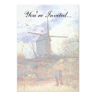 Van Gogh - Le Moulin De La Galette Windmill Card