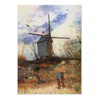 Van Gogh; Le Moulin de la Galette (Windmill) Custom Announcements