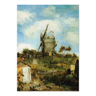 Van Gogh; Le Moulin de la Galette (Windmill) Custom Invites