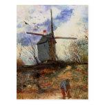 Van Gogh; Le Moulin de la Galette (Windmill) Post Card