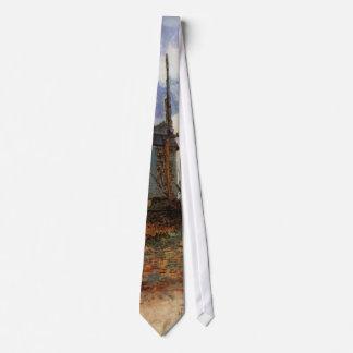 Van Gogh; Le Moulin de la Galette (Windmill) Tie