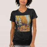 Van Gogh; Les Alyscamps (cementerio), arte del Camiseta