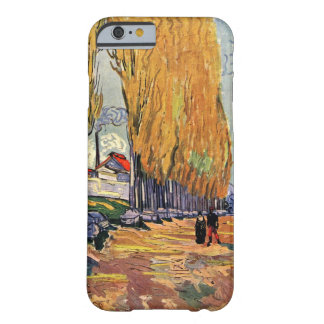 Van Gogh; Les Alyscamps (Cemetery), Vintage Art Barely There iPhone 6 Case