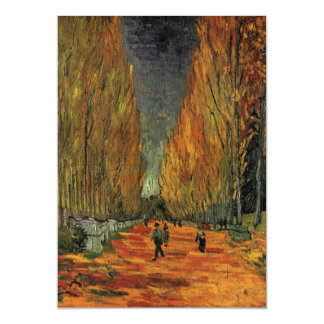 Van Gogh; Les Alyscamps (Cemetery), Vintage Art Card