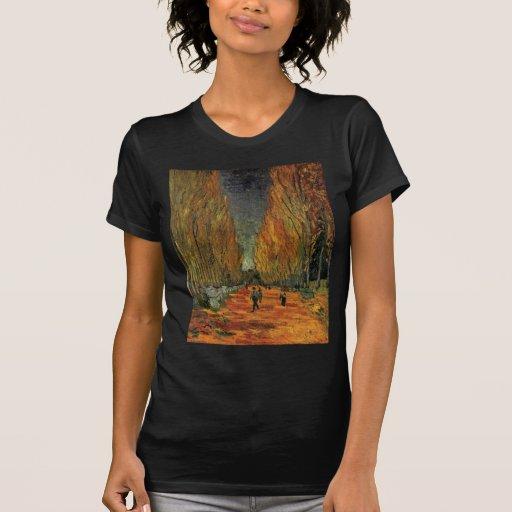 Van Gogh; Les Alyscamps (Cemetery), Vintage Art T-Shirt