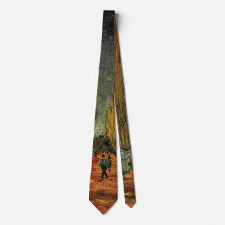 Van Gogh; Les Alyscamps (Cemetery), Vintage Art Tie