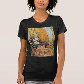 Van Gogh; Les Alyscamps (Cemetery), Vintage Art T-shirts