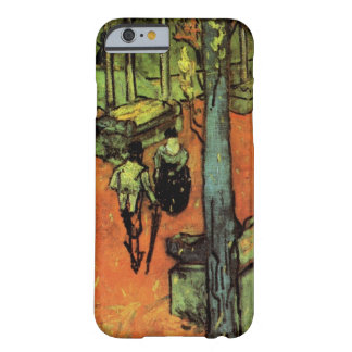 Van Gogh; Les Alyscamps: Falling Autumn Leaves Barely There iPhone 6 Case