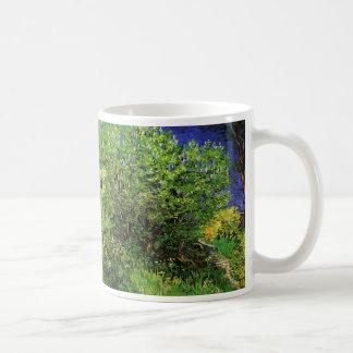 Van Gogh Lilacs, Vintage Flowers, Floral Fine Art Coffee Mug