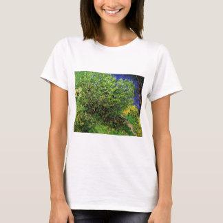 Van Gogh Lilacs, Vintage Flowers, Floral Fine Art T-Shirt