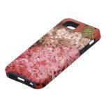 Van Gogh; Lilas. Flores rosadas del vintage, arte  iPhone 5 Fundas