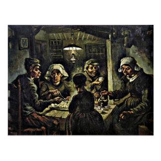 Van Gogh - los comedores de la patata Postales