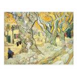 Van Gogh los componedores de camino Tarjetas Postales