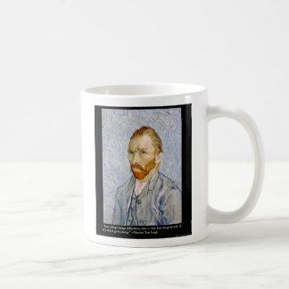 "Van Gogh ""Love/Energy"" &Quote Tee Gift Collectible Coffee Mug"