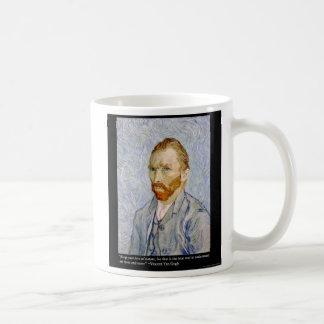 "Van Gogh ""Love People"" Quote On Gifts Tees Cards Coffee Mug"