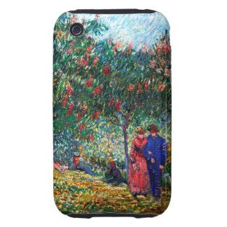 Van Gogh Lovers in Montmarte iPhone 3 Tough Cover