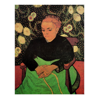 Van Gogh; Madame Roulin Rocking the Cradle Poster