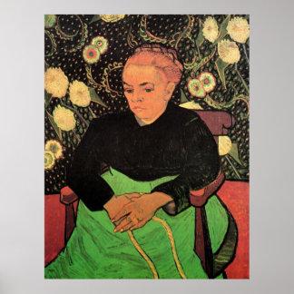 Van Gogh; Madame Roulin Rocking the Cradle Poster